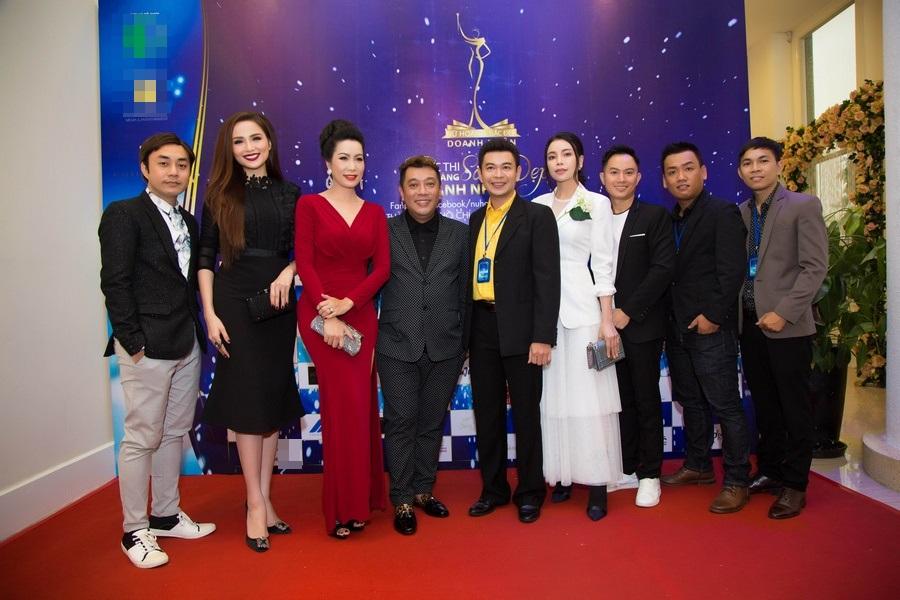 Hoa hậu Diễm Hương, Á hậu Trịnh Kim Chi và Trà Ngọc Hằng làm giám khảo Nữ Hoàng Sắc đẹp Doanh Nhân 2018