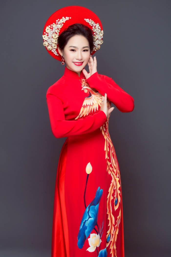 Lương Bích Hữu, NTK Minh Châu, Áo dài Minh Châu